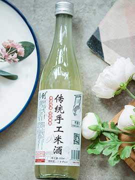500ML 莲花瓶手工米酒
